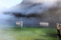 Boote am See von Martina  Gsöls