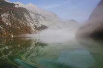 Nebel Am See von Martina  Gsöls