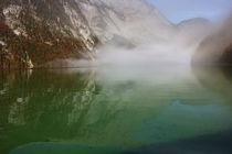 Nebel überm See von Martina  Gsöls