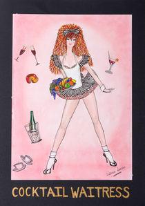 COCKTAILWAITRESS von Patricia Lemoine