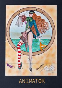 THE ANIMATOR von Patricia Lemoine