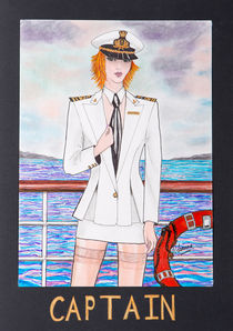 THE CAPTAIN von Patricia Lemoine