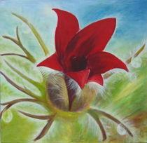 flower japanese by Gudrun Schiefelbein