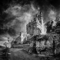 Burg Sooneck (1sw) von Erhard Hess