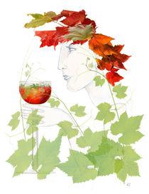 Weinkönigin by Kiki de Kock