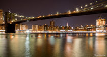 Brooklyn Bridge by night von Jean-Marc Papi