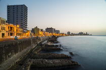 Havana Malecon  by Rob Hawkins