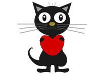 Black cat von Jutta Ehrlich