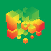 Fly Cube N1.1 by oliverp-art