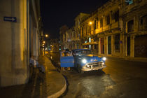 Havana Night Taxi by Rob Hawkins