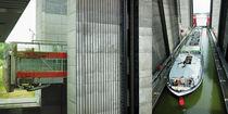 Schiffshebewerk Scharnebeck - Collage von Hartmut Binder