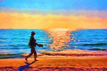 Die Frau am Meer by mario-s