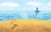 Footsteps to Summer by Dorina Boneva