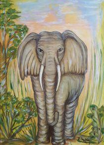 Krafttier Elefant von Marija Di Matteo