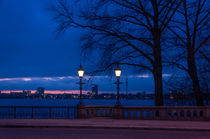 Skyline Hamburg by bilderharmonie