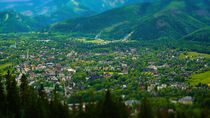 City of Zakopane, Poland von Tomas Gregor