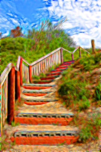 Ufer - Treppe by mario-s