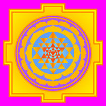 Sri Yantra Sunny by regalrebeldesigns