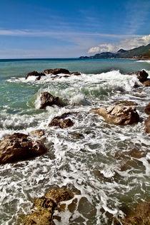 Ostküste auf der Insel Sizilien von captainsilva