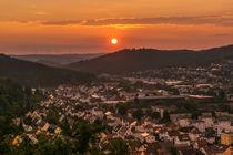 Weststadt im Sonnenuntergang by ralf zimmermann