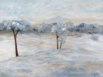 Blue Winter Day von eloiseart