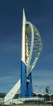 Spinnaker Tower Portsmouth by Sabine Radtke