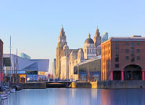Albert Dock And the 3 Graces by John Wain