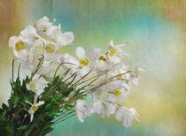 Bouquet Of White Flowers by Elena Oglezneva