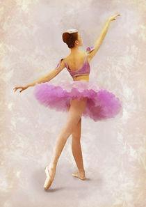 Ballerina In Pink by Elena Oglezneva