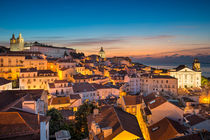 Sunrise in Lisbon by Michael Abid