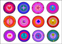 Design buttons von Jutta Ehrlich