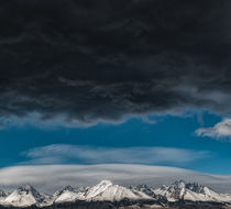 High Tatras from the window, Poprad, Slovakia by Tomas Gregor