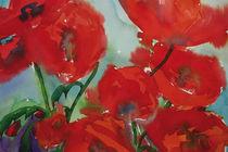 Rot-Rot-Rot-Rot-Mohn von Sonja Jannichsen