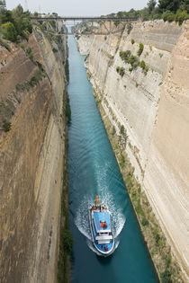 Kanal von Korinth von Frauke Scholz
