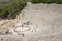 Theater in Epidauros by Frauke Scholz