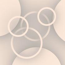 Ringe und Scheiben beige von dresdner