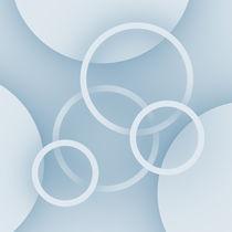 Ringe und Scheiben blau von dresdner
