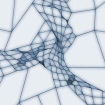 Netz blau von dresdner