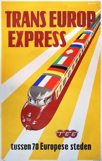 Trans Europ Express (TEE), 1957 von retours