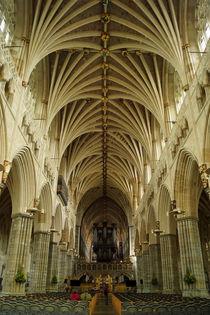 Exeter Cathedral 2 von Sabine Radtke