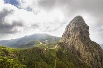 Roque de Agando, La Gomera von Jörg Sobottka