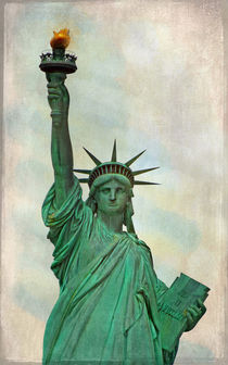 The Statue Of Liberty by Elena Oglezneva