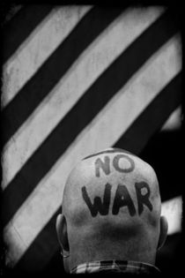 War Protester by Jim Corwin