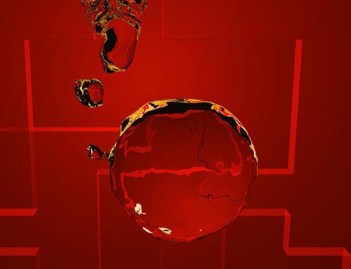 Wasser-rot