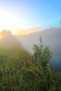 'Nebel und Sonnenlicht an der Ruhr' von Bernhard Kaiser
