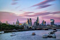 Skyline London by Bruno Schmidiger