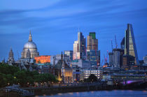 London skyline by Bruno Schmidiger