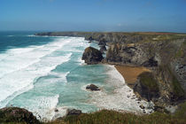 Coast of Cornwall, Bedruthan Steps 6 by Sabine Radtke