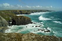 Coast of Cornwall, Bedruthan Steps 7 by Sabine Radtke