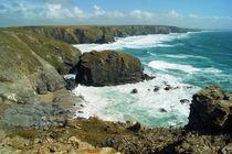 Coast of Cornwall, Bedruthan Steps 5 by Sabine Radtke
